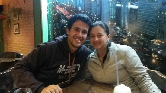 Restaurante Angus: Con mi hermana
