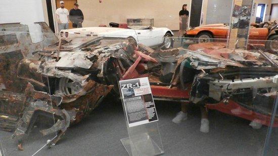 National Corvette Museum: More Carnage