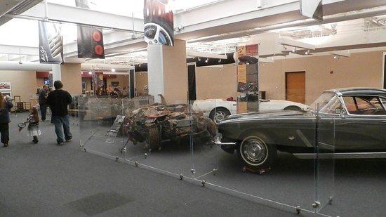National Corvette Museum: Carnage