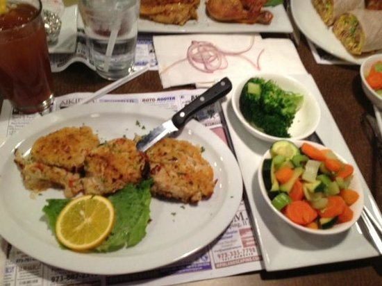 East Hanover Diner - my crab cakes