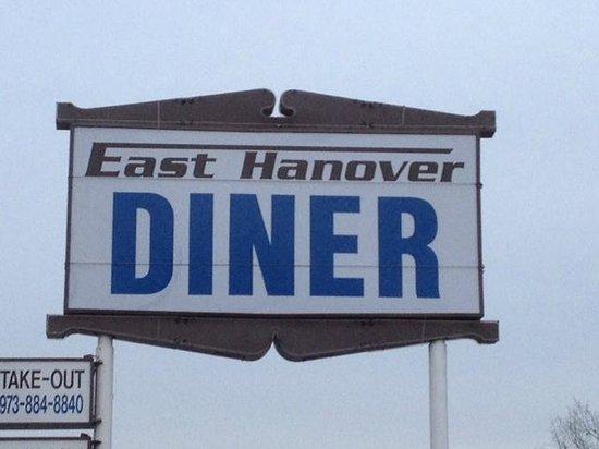East Hanover Diner - sign