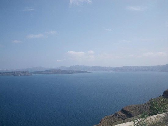 Santorini Princess: view from balcony