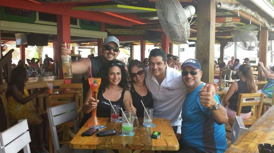 Señor Frog's: Señor Frog A+!!! The best place to eat and drink @ Freeport Bahamas. Rafa and all the staff are