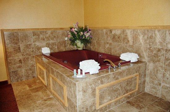 Quality Inn & Suites Kansas City I-70 East: Hot Tub Jaccuzzi