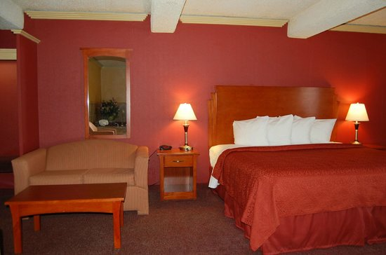 Quality Inn & Suites Kansas City I-70 East: King Bed Suite with Sofa Sleeper
