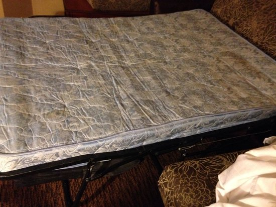 Holiday Inn Express Hotel & Suites San Antonio-Downtown Market Area: Terrible couch mattress