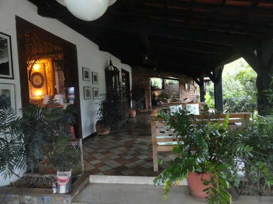 Hotel de Lencois: Decoração