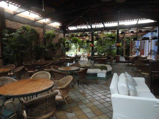 Hotel de Lencois: Restaurante do hotel