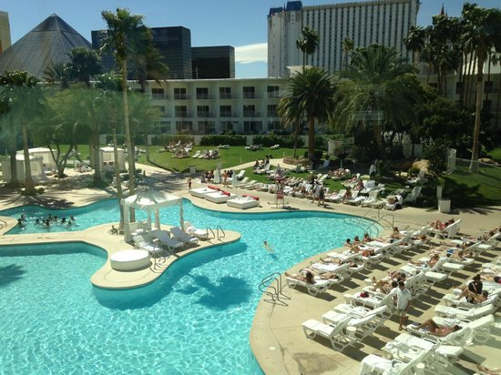 Swimming pool picture of tropicana las vegas a doubletree by hilton hotel las vegas - Las vegas swimming pools ...