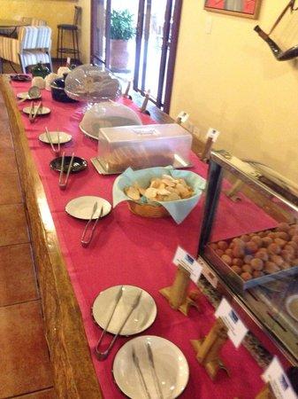 Hotel Pousada Aguas de Bonito: Merenda pantaneira! Divina