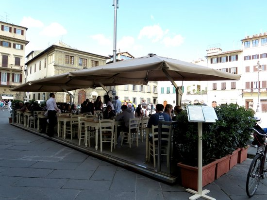 Boccadama Restaurant: Boccadama (outdoor seating)