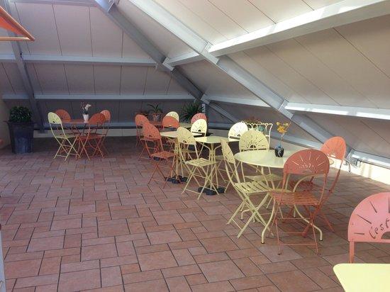 Hotel L'Esterel : Крыша