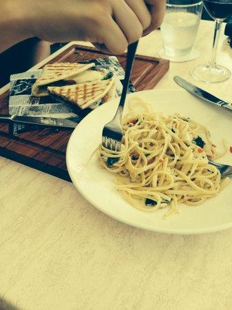 Bucci Italian Restaurant : Spanner crab linguine