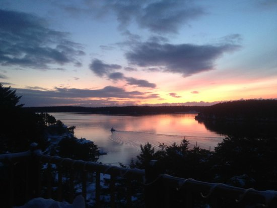 A Channel View B&B: Stunning sunrises!