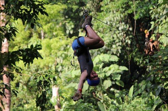 Quepo Canyoning: hanging around