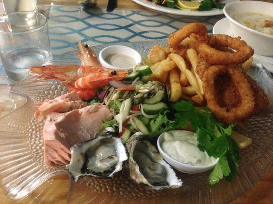 Sealife Centre Restaurant : Seafood Platter