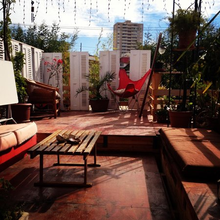 Hostal Del Aguila: Roof terrace