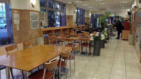 Toyoko Inn Matsuyama Ichibancho: 一樓大廳