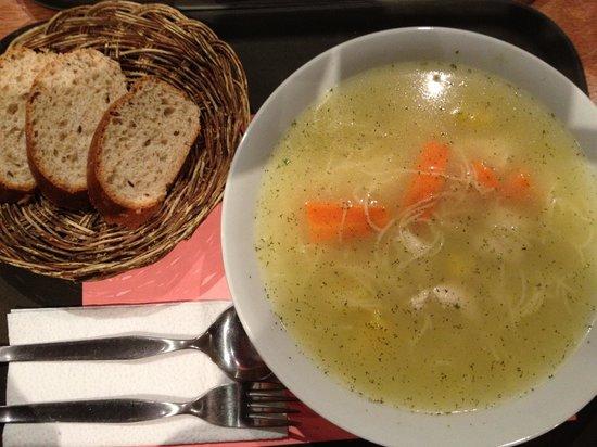 Mr. Soup: Dieta de pollo