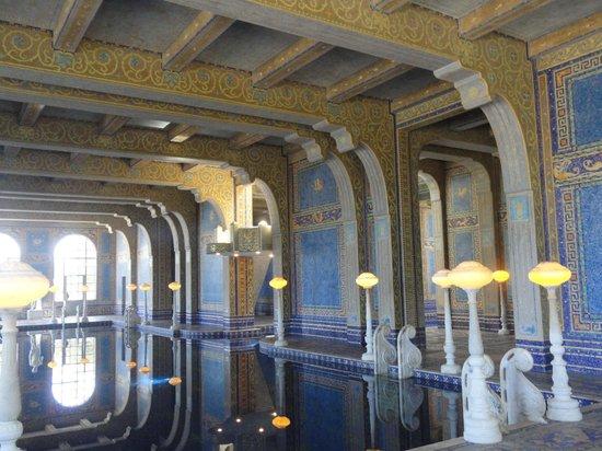 Hearst Castle: Roman Pool