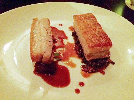 Reserve Restaurant Milton : The softest, juiciest pork belly
