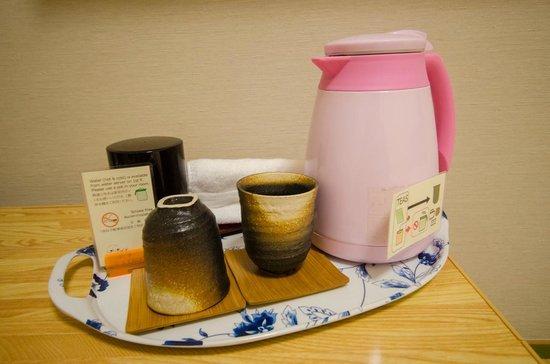Family Inn Saiko: Tea set