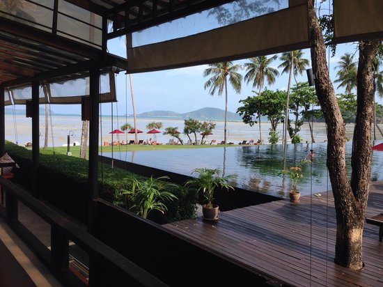 The Vijitt Resort Phuket : Vue du restaurant