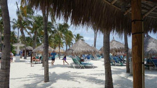 Hyatt Regency Aruba Resort and Casino: At the Private Beach