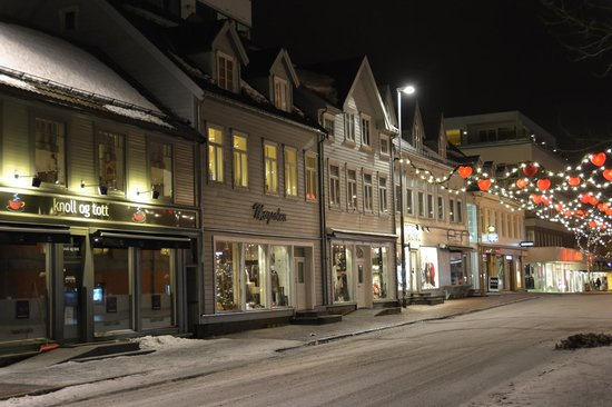 Radisson Blu Hotel, Tromso: Downtown Tromso