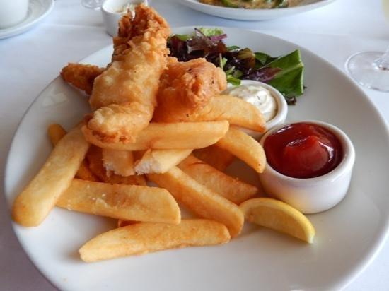 The Fish Market : Alaskan Cod Fish & Chips
