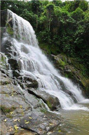 Huila Department, Colombia: Cascada la azufrada la plata - Turismo en el huila