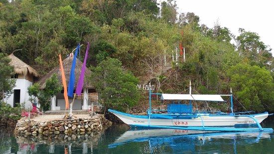 AL FARO Cosmio Hotel Palawan: bottom of the resort