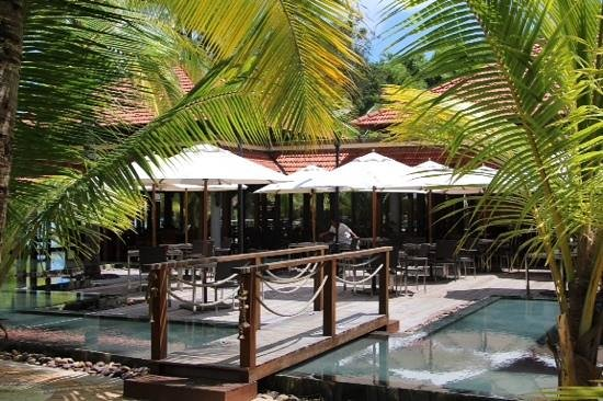 Beachcomber Seychelles Sainte Anne: Hauptrestaurant