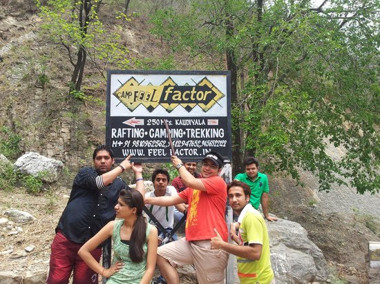 Camp Feel Factor: NOW I AM GETTING A FEEL, AND ITS A FACTOR OF THIS PLACE...