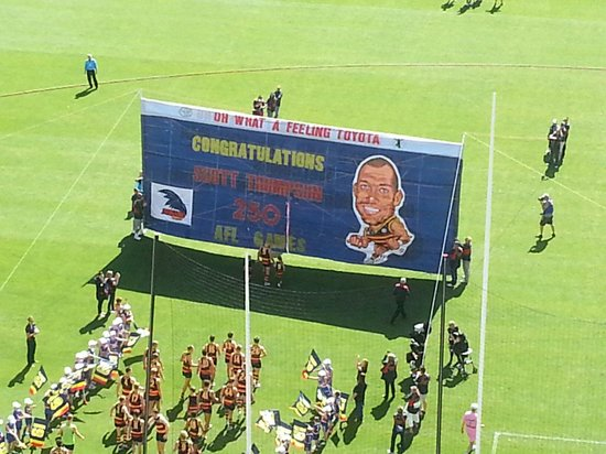 Adelaide Oval: Scotts 250TH GAME
