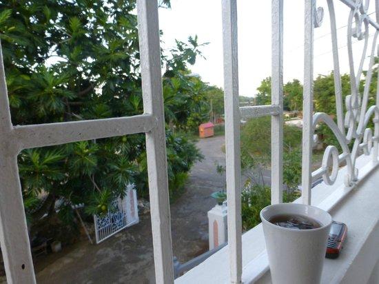 Van Villa: View of street from the room