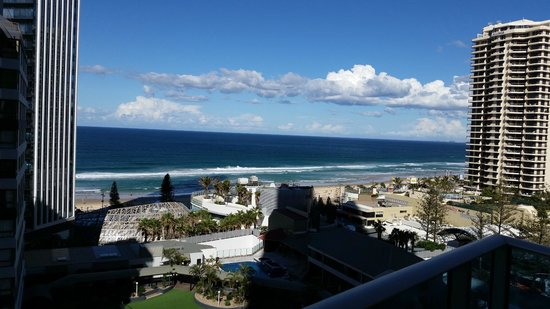 Hilton Surfers Paradise Hotel: View from our room