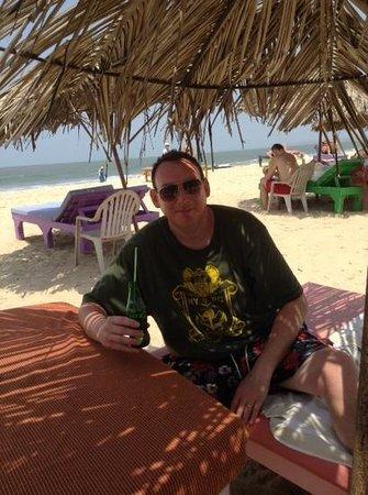 Sam's Goan Beach Shack: chilling at Sams