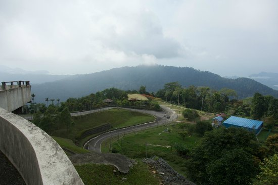 Gunung Raya: view from the top