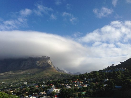 Boutique Manolo: Table Mountain, from the deck