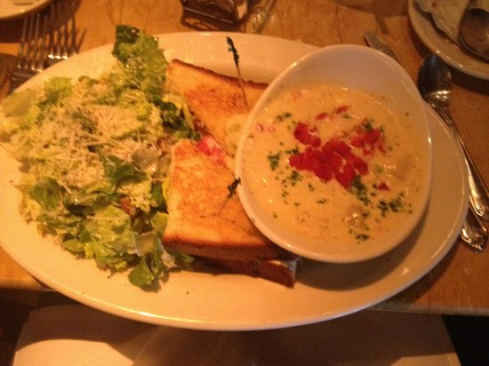 The Cheesecake Factory: Find under the lunch menu