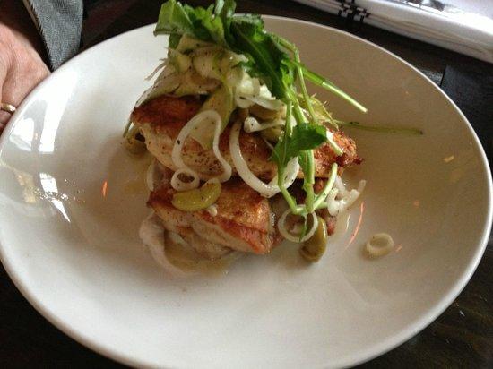 Bastille Cafe & Bar : Roasted Half Chicken