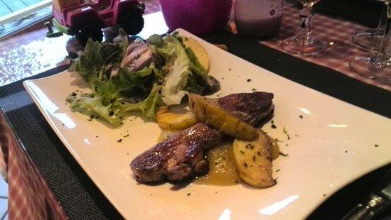 Le Tyrolien: Foie gras poêlé