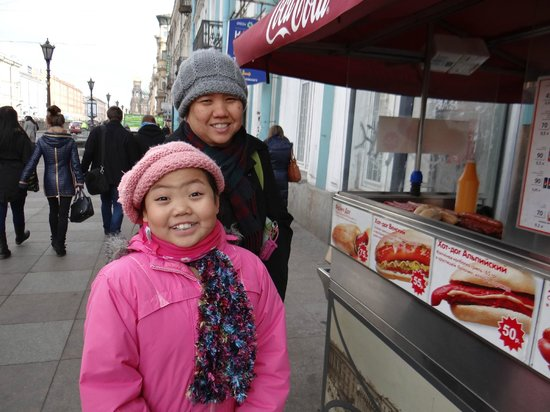 Russian Tour Guide, LLC- Day Tours: St. Petersburg snack