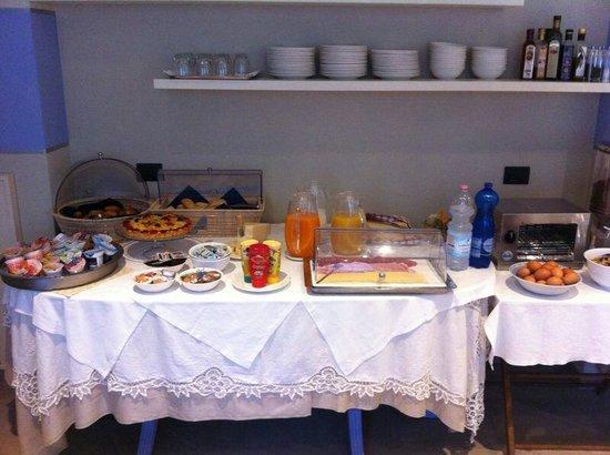 Hotel Souvenir : Buffet per la colazione