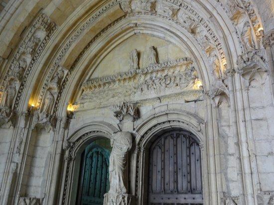 Palais des Papes : detalhe arquitetônico