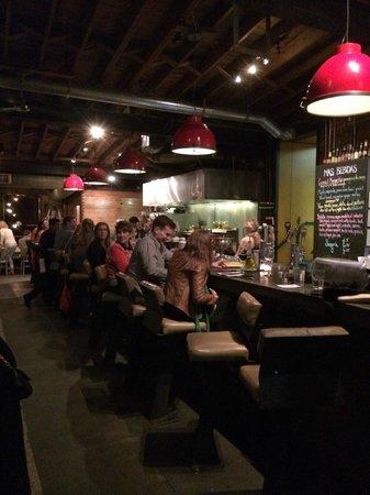 Mas Tapas: the bar