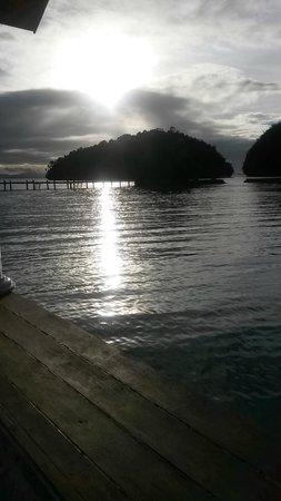 Club Tara Resort : View from veranda
