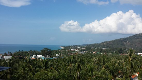 Seaview Paradise Resort Hotel : Lamai from Villa M3