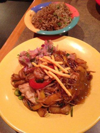 The finished Stir Fry product,  Mongo's Grill  |  1570 Regent West, Winnipeg, Manitoba R2C 5L1,